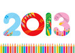 2013 bianco matite s