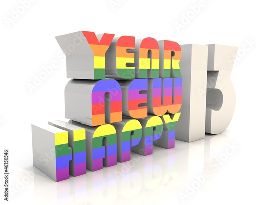 Happy New Year 2013 GAY