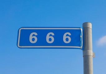 666 mile