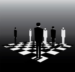 politics is like a game of chess
