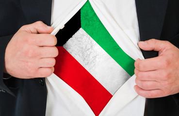 The Kuwaiti flag