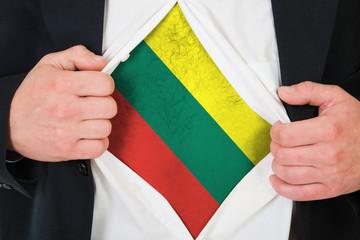 The Lithuanian flag