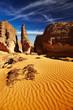 Sahara Desert, Tassili N'Ajjer, Algeria