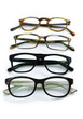 Leinwanddruck Bild - Brillengestelle