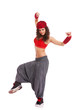 woman street dancer posing