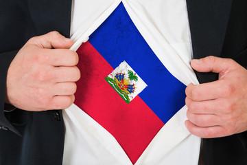 The Haiti flag