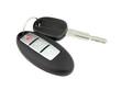 car key with remote control - 46157116