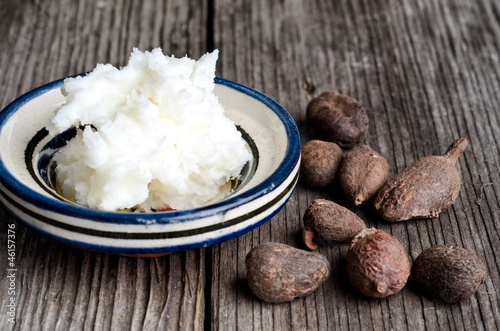 Shea butter and shea nuts