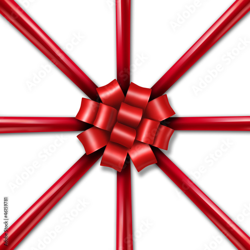 Star Burst Holiday Ribbon