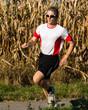 Jogger im Marathon