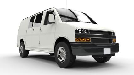 White Van Low Front