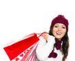 Winterliche Einkäufe