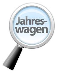 """Lupe """"Jahreswagen"""""""