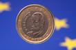 Spanische Eineuromünze