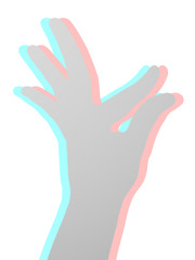 Art hand visual effect