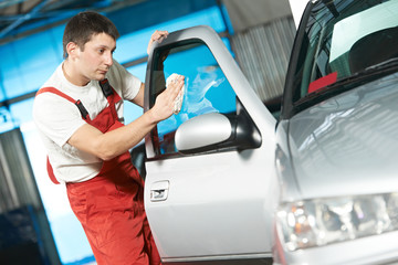 auto service cleaner washing car