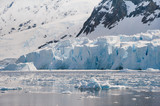 Majestic beach of Antarctica