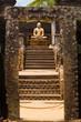 Vatadage Buddha Framed Gate Steps Polonnaruwa