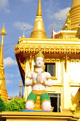 Keereewong temple or Watkeereewong located in Nakornsawan of Tha