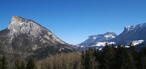 chartreuse - panorama de la vallée des entremonts