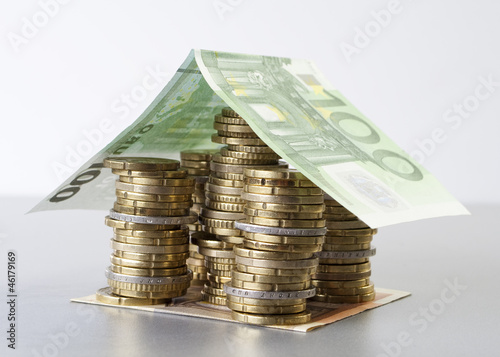 Haus aus Euros