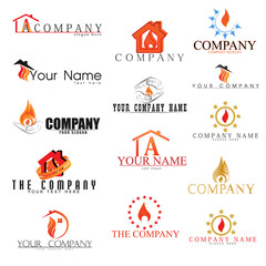 Collection of Fire Logos