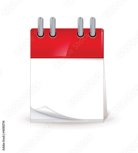 Leinwanddruck Bild calendrier 2013 vierge