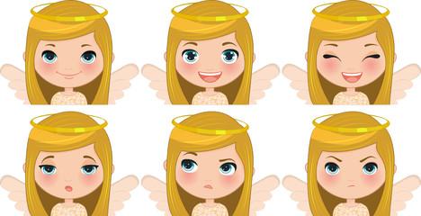 Expressions Xmas Girl Angel