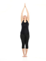 intermediate yoga pose