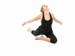 yoga practice pose