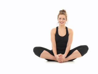 beginner yoga practice