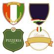 Italienische Schilder