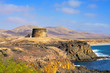 Torre del Toston castle in El Cotillo, Fuerteventura, Canary Isl