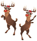 Rudolph The Reindeer Dancing
