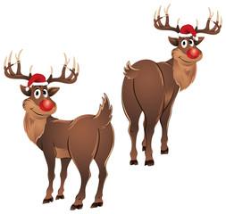 Rudolph The Reindeer Standing