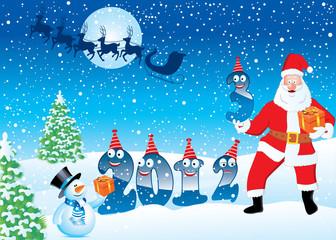 Santa Claus bring 2013