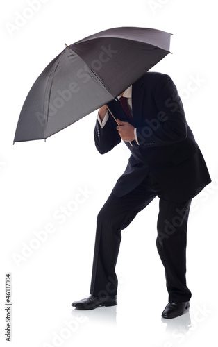 suit umbrella