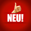 Neu! Button, Icon
