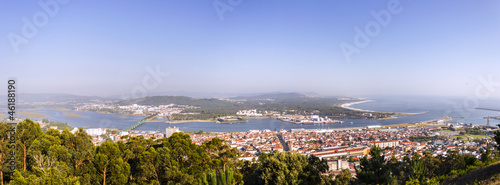 Panorama over Viana do Castelo