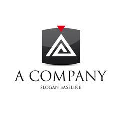 Logo d'entreprise, finance, patrimoine