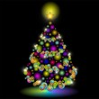 Christmas Tree Lights Design-Albero Natale Luci Colorate