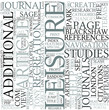 Leisure studies Discipline Study Concept
