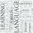 Language education Discipline Study Concept