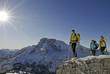 Skivergnügen in den Dolomiten