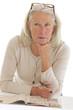 Femme senior  - Perte de mémoire