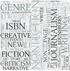 Creative nonfiction Discipline Study Concept