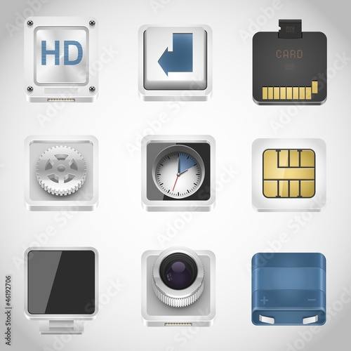 universal web vector icons