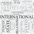 International relations Discipline Study Concept