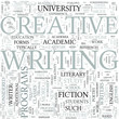 Creative writing Discipline Study Concept