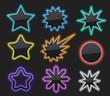 Glossy star